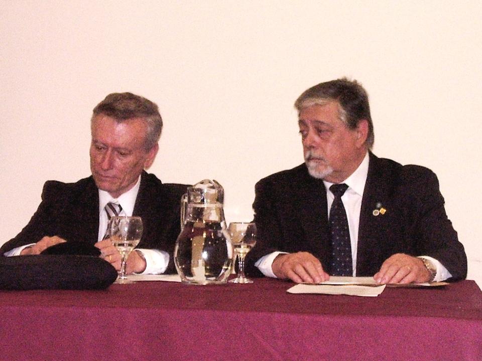 Marco Lanari y Norberto Frickx