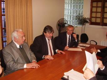 Reunión de académicos